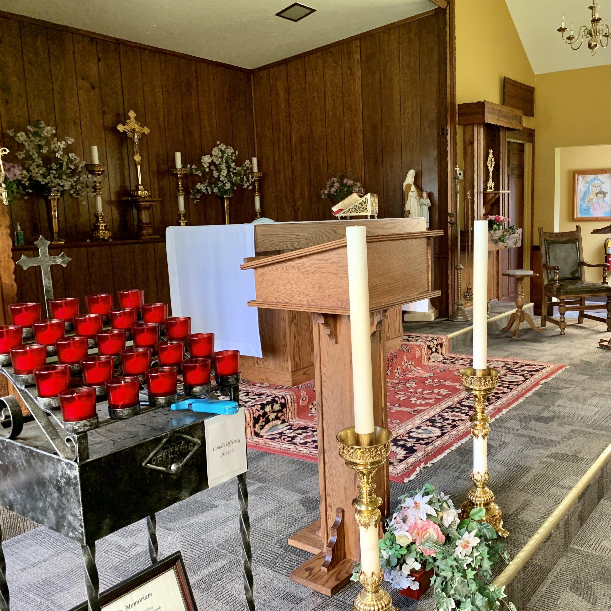 altar at st. anne's church