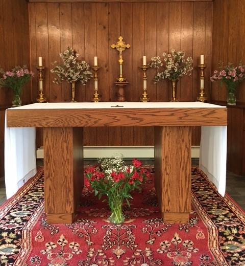 st. anne's church altar