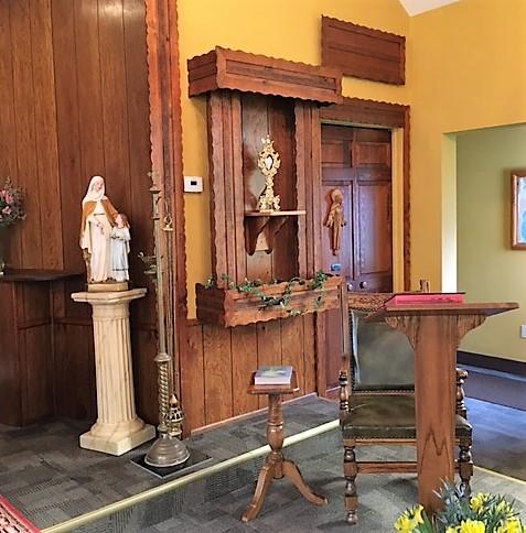 interior view of st. anne's church